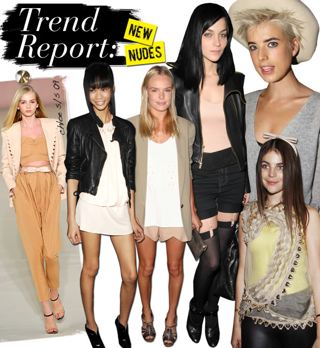 the nude trend