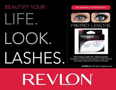 Revlon fantasy eyelashes review+giveaway