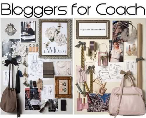 bloggers for coach, inspiration boards