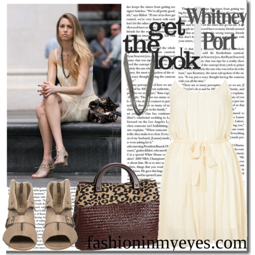 Get the look: Whitney Port The City / The Hills