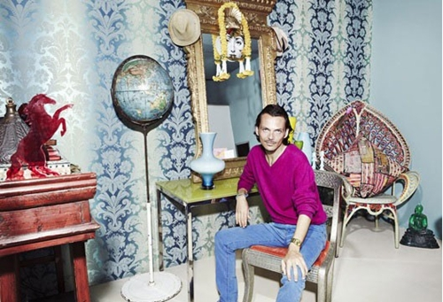 Interiors: Matthew Williamson at home