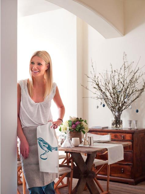 Interiors: Easter Decor with Gwyneth Paltrow
