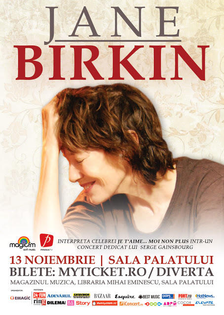 Win a double invitation to Jane Birkin's concert