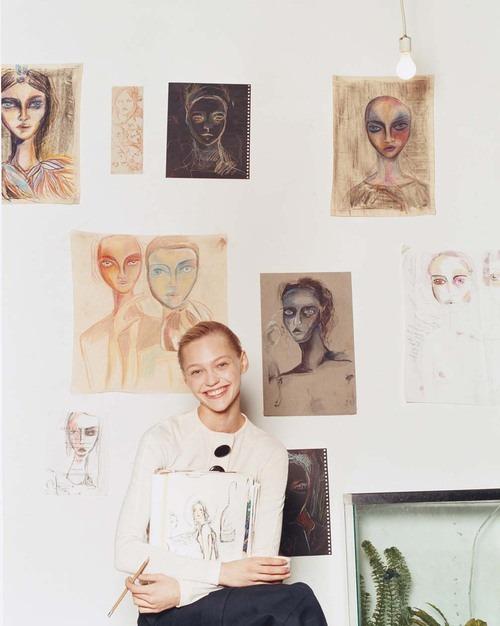 Sasha Pivovarova for Gap