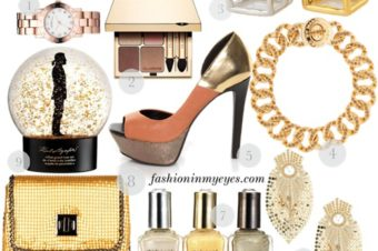 Gift guide: the gold, the glitter