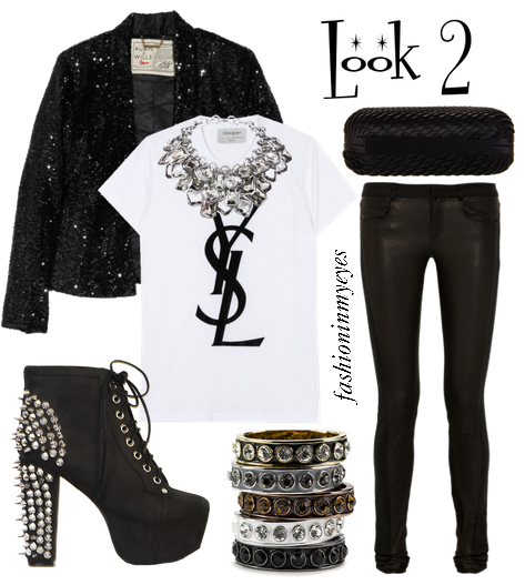 plain rock party outfits 13