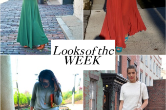 Looks of the week: going maxi