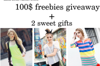 Romwe GIVEAWAY, 100$ freebies + gifts