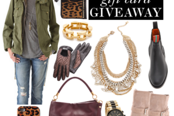 Shopbop 100$ gift card giveaway / Penelope Chilvers & more