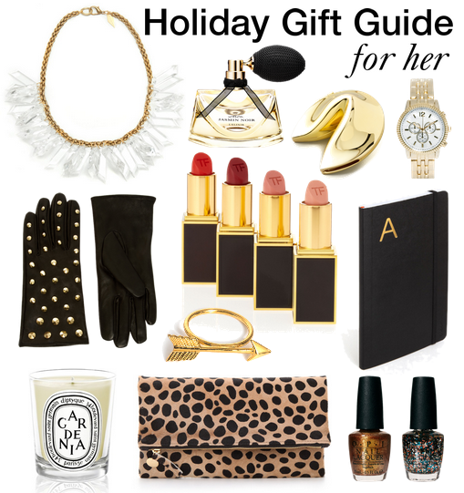 2012 Holiday Gift Guide: for her