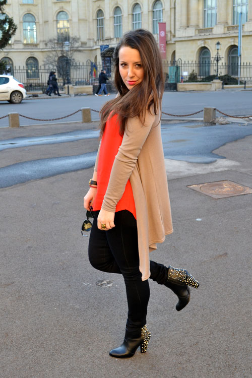 Outfit post: red blooded