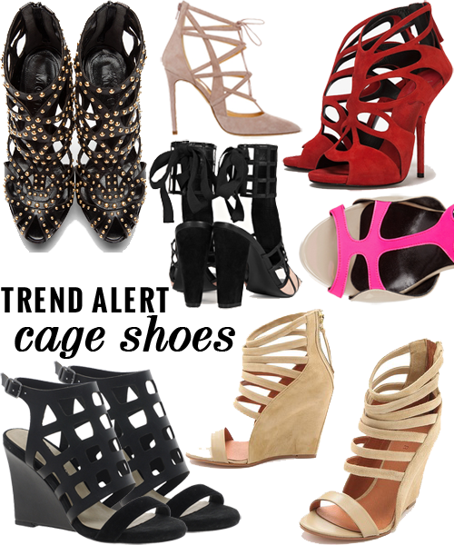 Trend alert: cage shoes