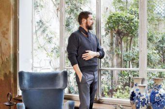 Interiors: Stefano Pilati Paris Duplex