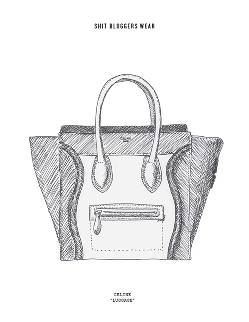celine-luggage-illustration