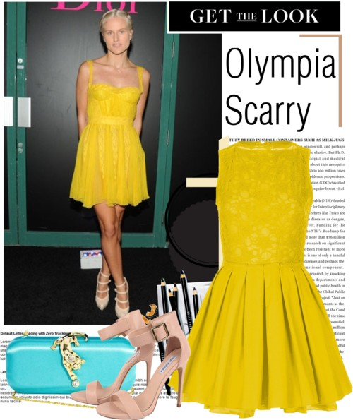 Get the look: Olympia Scarry