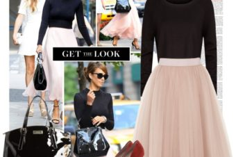 Get the look: Jessica Alba at NYFW
