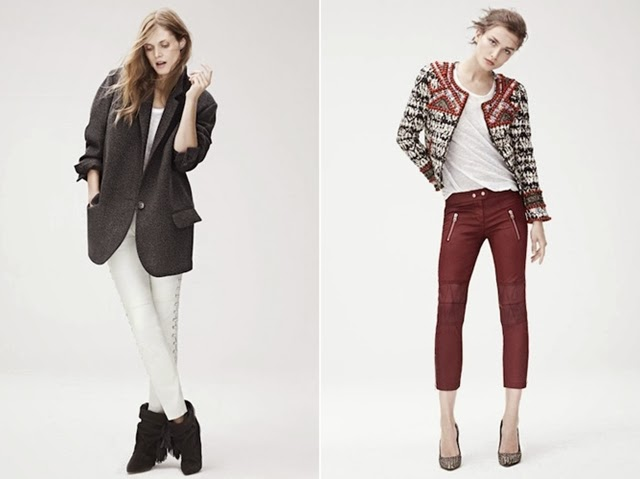 Isabel Marant for H&M lookbook > leaked!