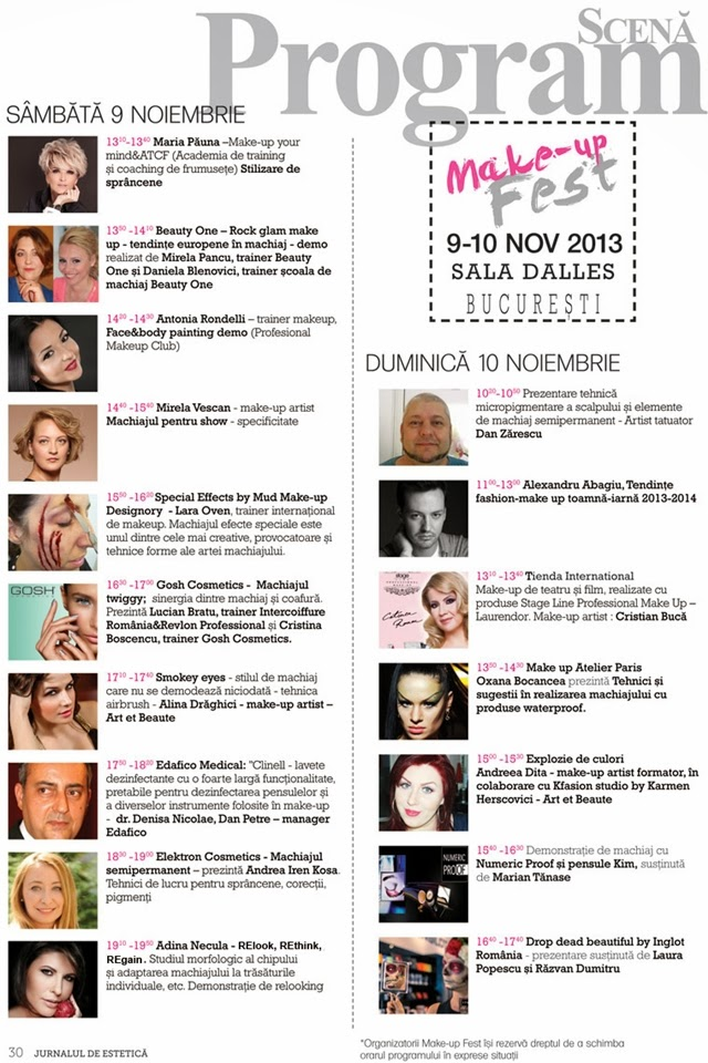 Contest & Make-up Fest 2013