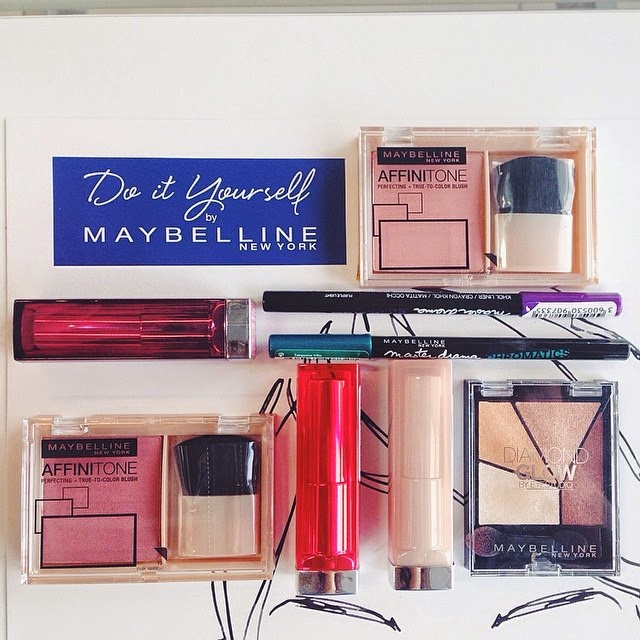 DIY by MAYBELLINE & THE NUDE COLLECTION