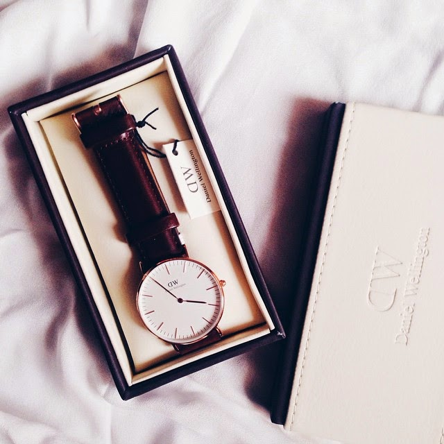 Time, Daniel Wellington and a discount for you