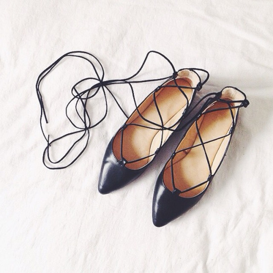 5 lace up flats you have to check out this fall