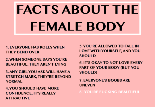 8 facts about the female body
