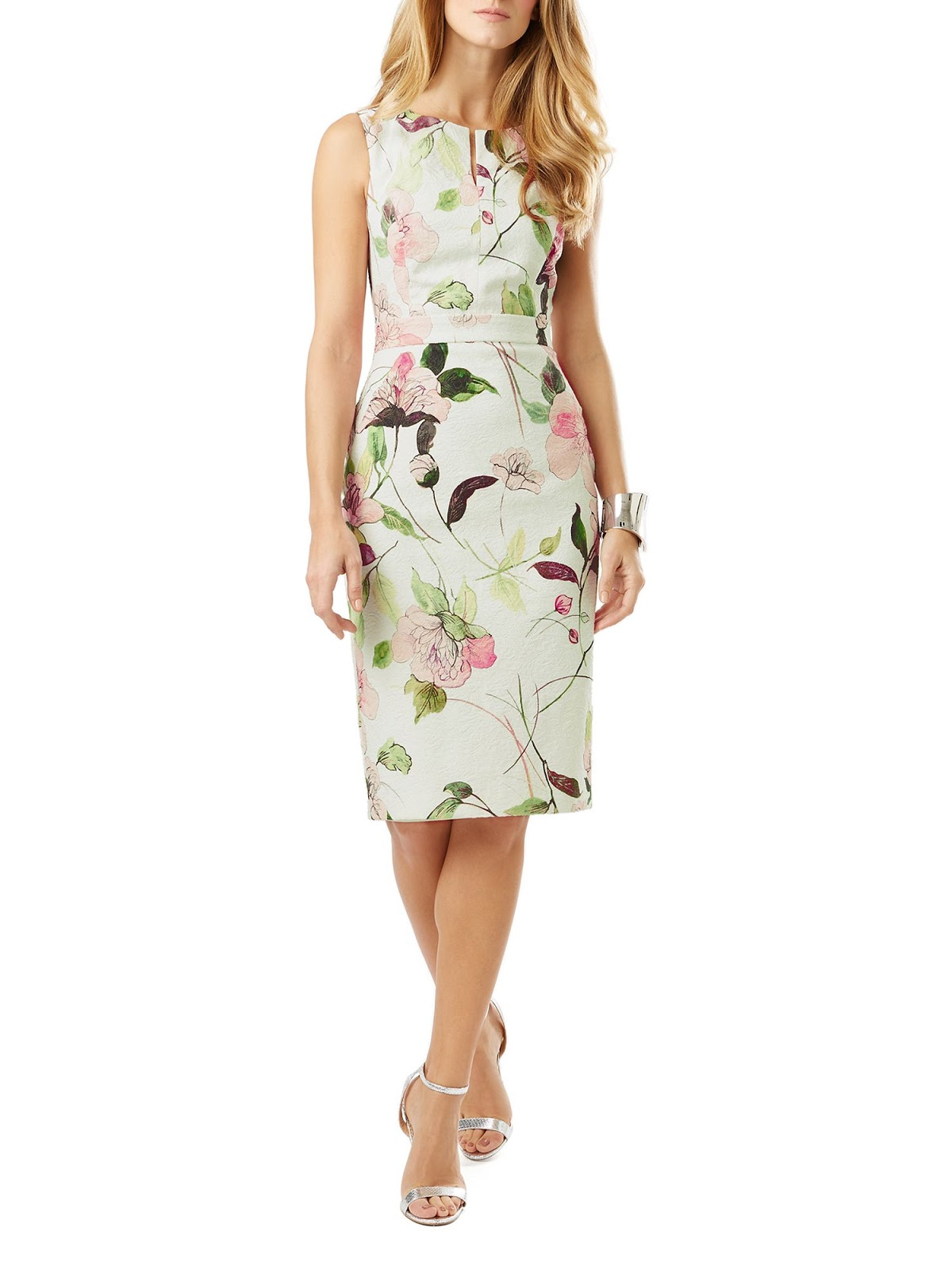 Three lovely spring floral print dresses