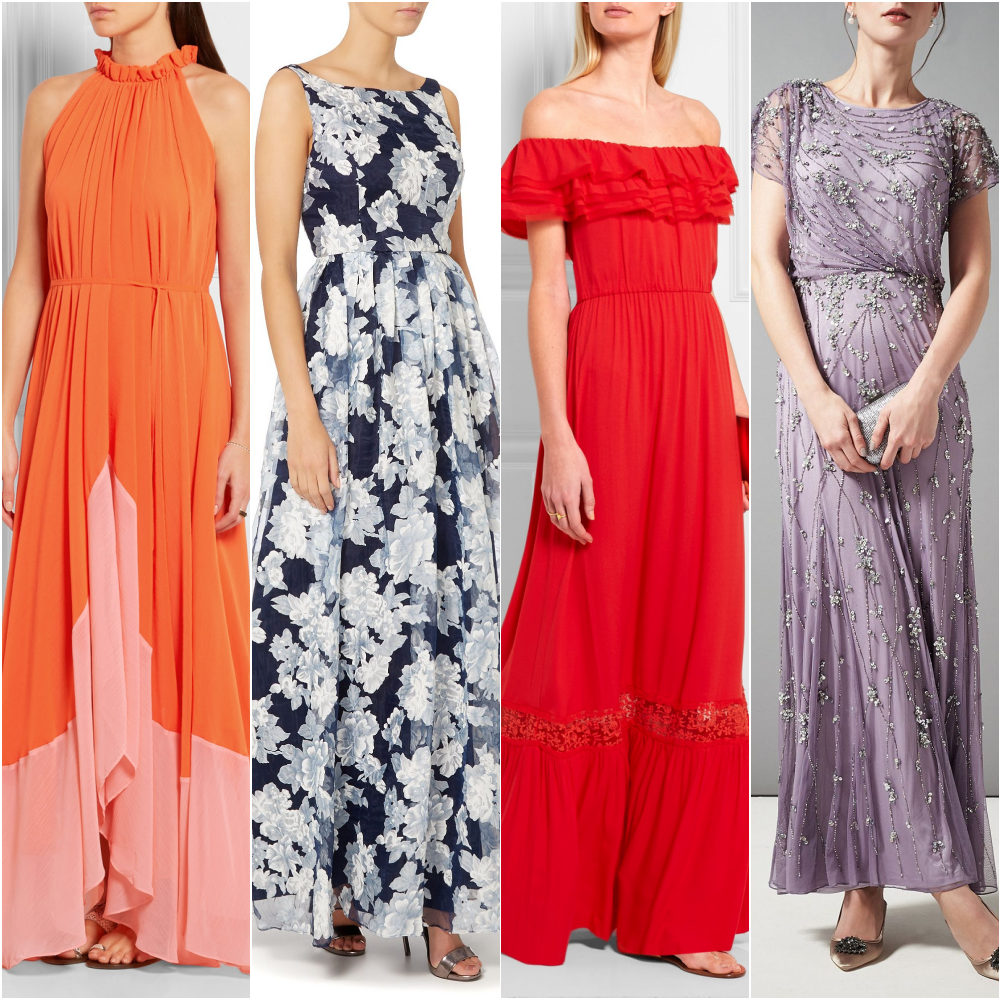 4 dreamy maxi dresses