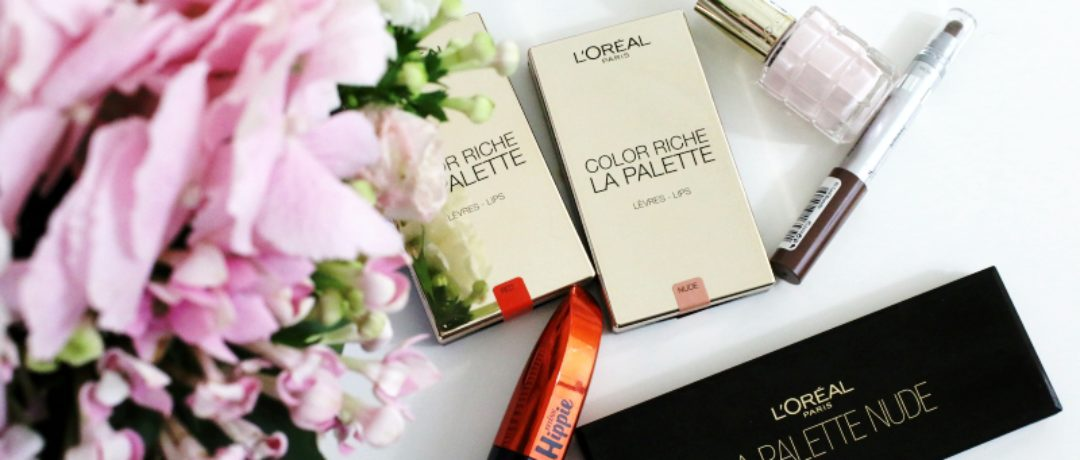 Awesome new stuff from L'Oreal + video