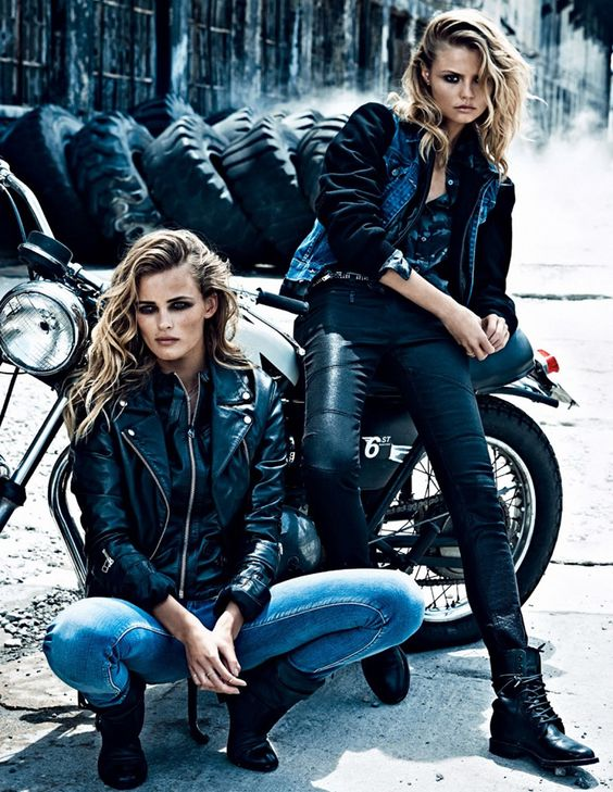 Cool motorcycle gear for women