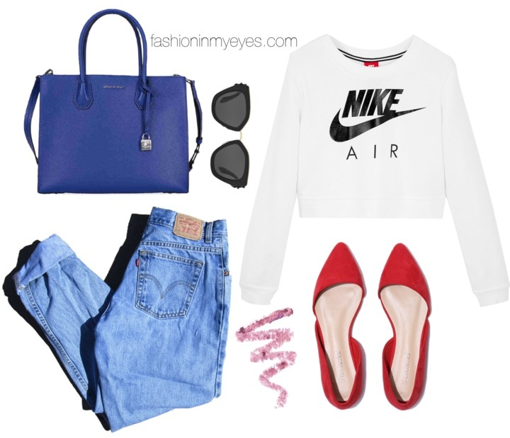 A cool and easy spring outfit