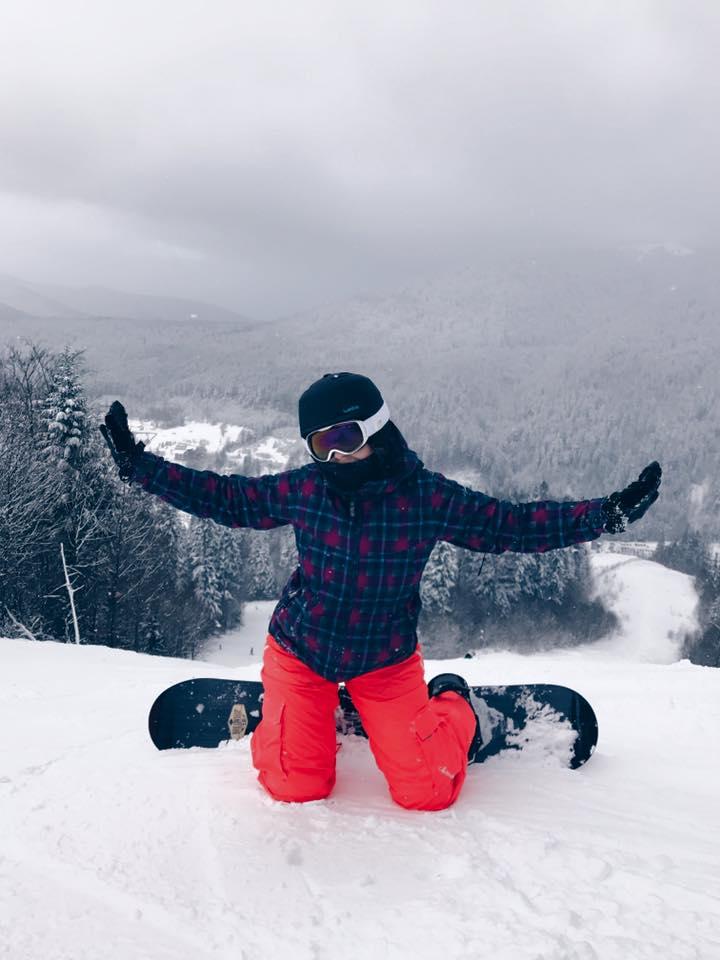snowboarding denisa