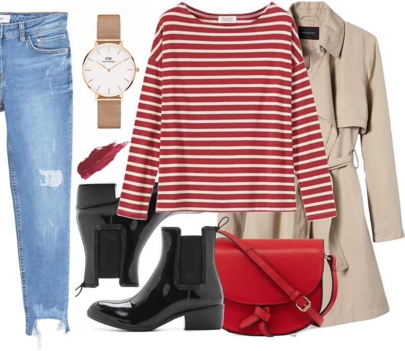 A rainy day outfit & voucher code