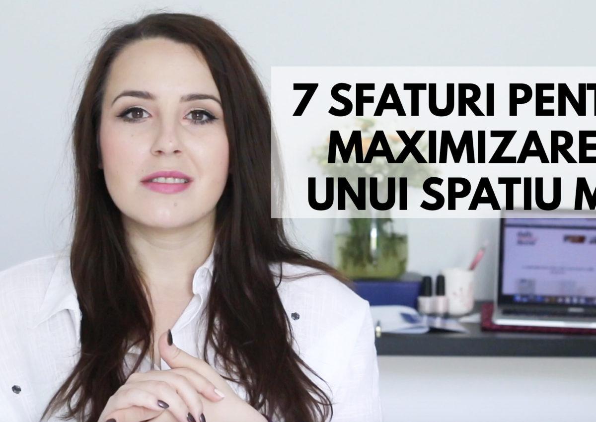 7 sfaturi pentru maximizarea unui spatiu mic