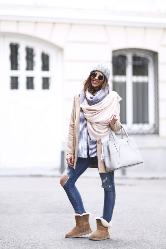 casual ugg outfit fall
