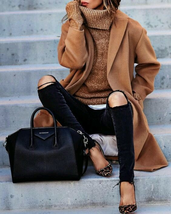 fall outfits and bags