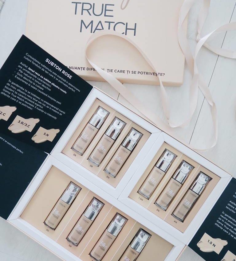 A little review of the L'Oreal True Match foundation