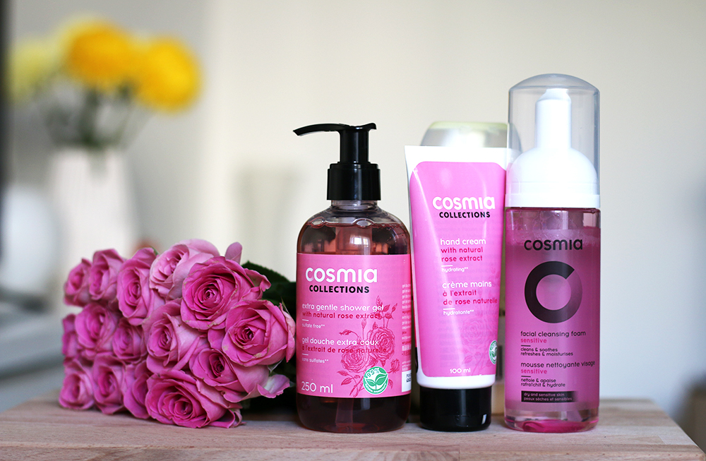 Shower routine + giveaway Cosmia by Auchan